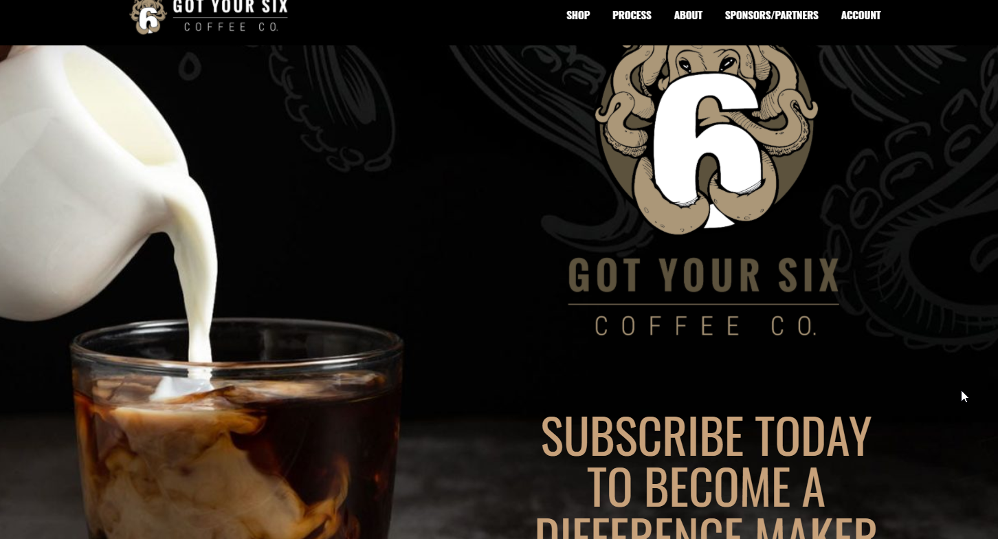 Got Your Six Coffee Company - Brewing Better Days 1st Responders
