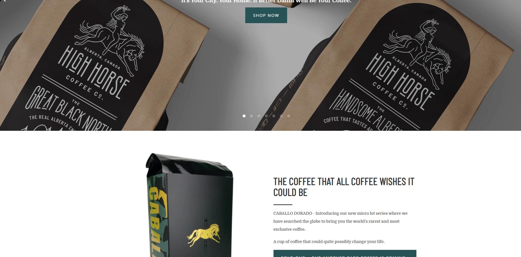 highhorse-coffee-website