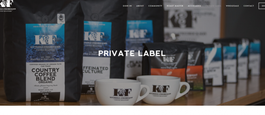 K-F-HPrivate Label Page